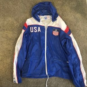 a9012360 Vintage USA Track and Field Windbreaker Kappa NWOT